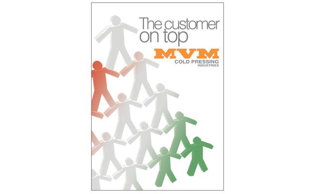 customer on top